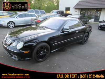 2003 Mercedes-Benz CL-Class CL55 AMG (Black)