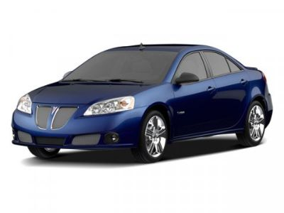 2009 Pontiac G6 Base (Midnight Blue Metallic)