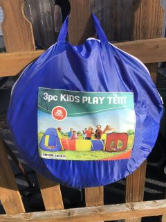 Kids Play Tent with tunnel