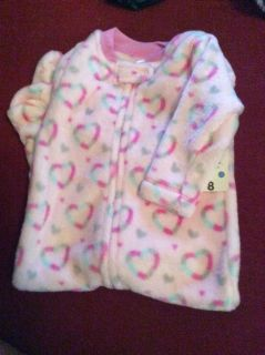 NWT all in one infant girls sleeper 12 months