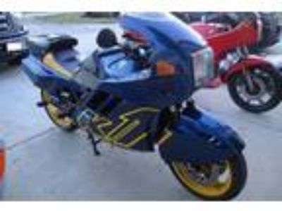 1990 BMW K-Series K1 Blue and Yellow