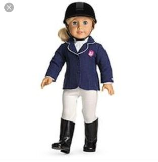 American Girl Doll Retired Equestrian Outfit