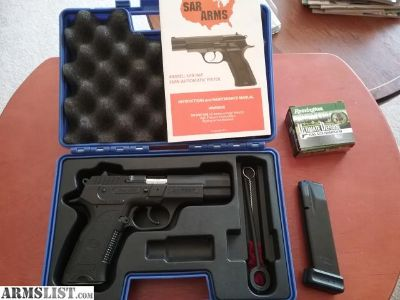 For Sale: Sar b6p 9mm