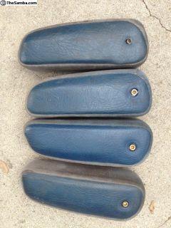 84 Vanagon blue armrests