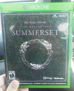 SUMMERSET X-BOX ONE GAME