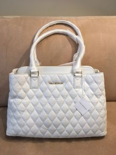 Retail Tag $298 NEW Vera Bradley Quilted Emma Tote