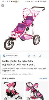 Looking for a doll stroller like this or similar