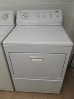 Kenmore elite washer and gas dryer king size capacity