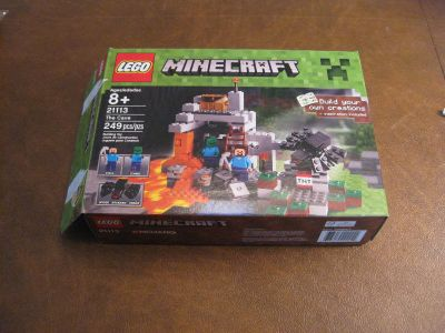 Lego Minecraft - The Cave
