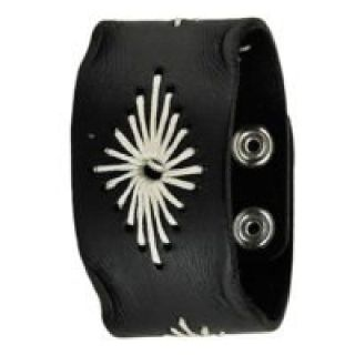 Black Leather Cuff – Nemesis Watch Inc.