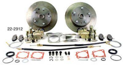 Drop Disc, Porsche Alloy 4 Wheel Kit