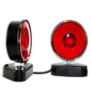 Buy PRO 12V Magnetic Trailer Light Kit RV Boat Tow Truck Towing Lite Camper Parts motorcycle in Chino Hills, California, US, for US $29.95