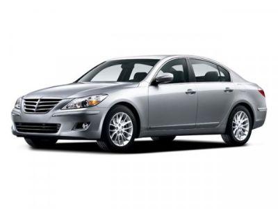 2009 Hyundai Genesis 3.8L V6 (White Satin Pearl)