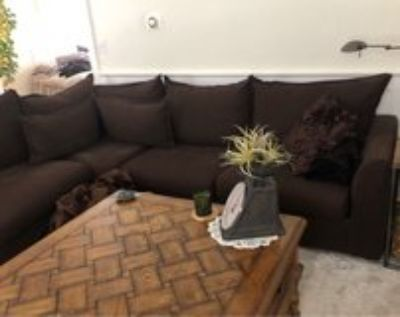 sectional sofa with pull out double bed