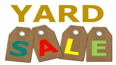 Yard Sale 235 Manley Rd. Griffin 6/29/19