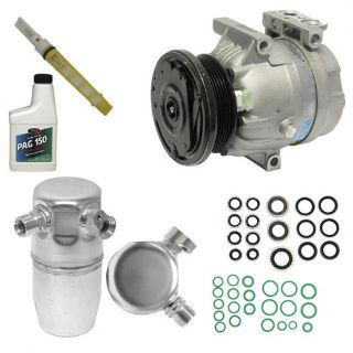 Buy NEW AC COMPRESSOR AND COMPONENT INSTALL KIT SEE COMPATIBILITY 10842 motorcycle in Irving, Texas, United States, for US $149.75