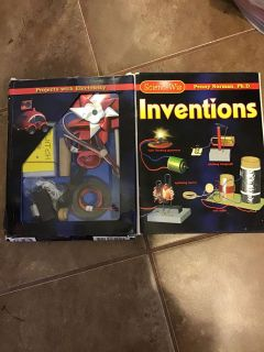New science wiz inventions kit