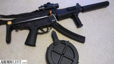 For Sale/Trade: Mp5 SWAT with drum magazine