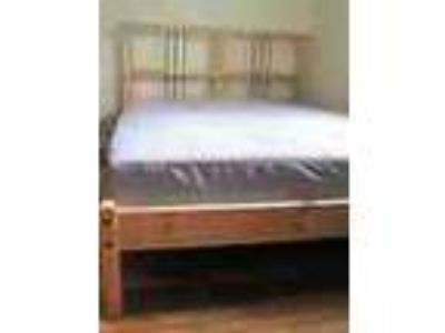 Best Sale Almost New Queen Size Bed Computer Chair Desk