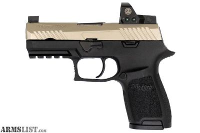 For Sale: SIG Sauer P320 RX (Two Tone) w/ Reflex Optic - New in Box