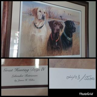 Great Hunting Dogs IV by James H. Killen print