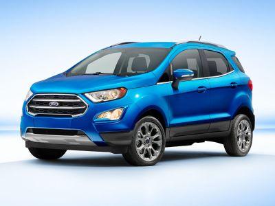 2019 Ford EcoSport SE (Lightning Blue)