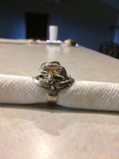 Super cute Rabbit Ring, Sterling Silver. Size 9 and another size 10