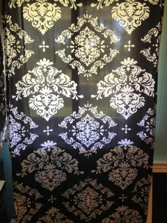 Matching Curtain Panels & Lamps