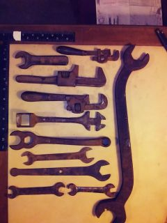 Antique Ford wrenches