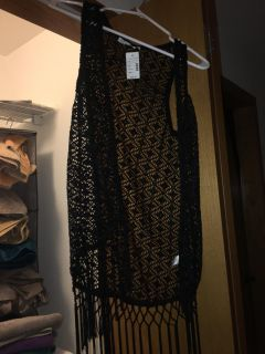 Nwt very cute lace over top