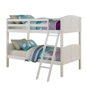 New Angel Line Bunk Bed (can convert into separate beds as well)