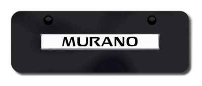 Purchase Nissan Murano Name CHR/BLK Mini-License Plate Made in USA Genuine motorcycle in San Tan Valley, Arizona, US, for US $33.38