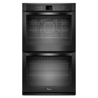 "Whirlpool Gold Black 30"" Double Wall Oven *Closeout* WOD93EC0AB"