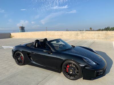 2015 Porsche Boxster GTS with manual transmission (Los Angeles)