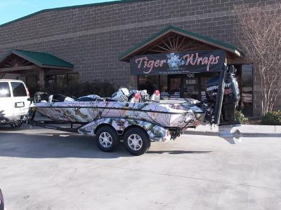 Fishing Boat Wraps DFW   GET READY FOR THE 2015 SEASON   TFF Discounts 2nd Location NOW OPEN..
