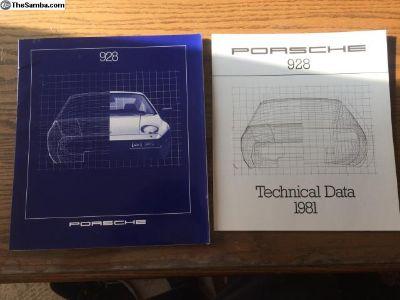 Porsche 928 1981 MY Brochure