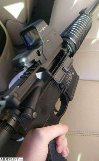 For Sale/Trade: Like New Smith and Wesson M&P AR-15, 223/5.56 caliber semiautomatic rifle with red dot scope and 2 magazines
