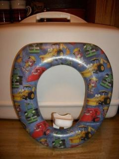 #5000 BOB THE BUILDER TIOLET TRAINING SEAT