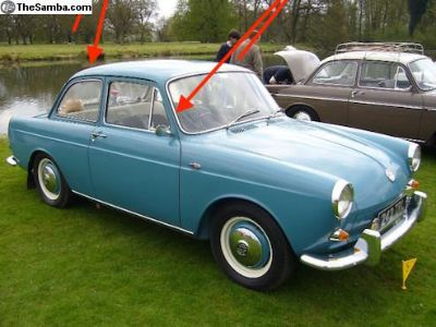 [WTB] 1962 Fat window trim wanted front and rear.