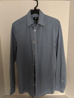 Men's H&M Easy Iron Shirt - Size: Small