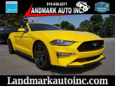 2018 Ford Mustang (YELLOW)