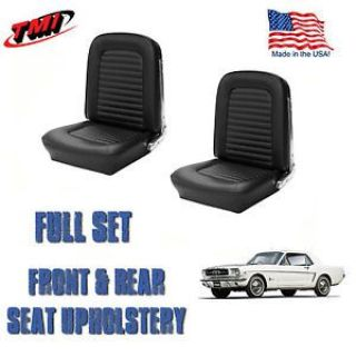 Buy Front and Rear Seat Covers, Upholstery Black 1966 Mustang Coupe FREE SHIPPING!! motorcycle in Los Angeles, California, United States, for US $279.99