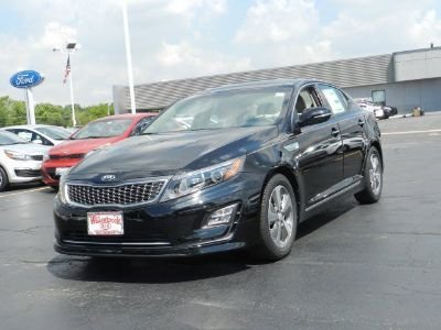 2016 Kia Optima Hybrid EX (Aurora Black)