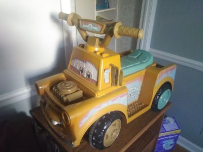Mater ride on toy