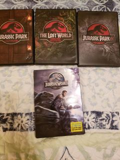 All of the Jurassic park movies