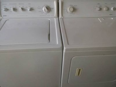 Matching Kenmore Washer Dryer Set