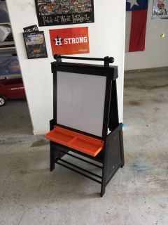 Easel with white board and chalkboard!!!