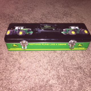 John Deer Metal Box w/ Handle