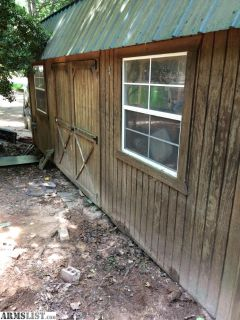 For Sale/Trade: 10x20 Graceland lofted barn with upgrades