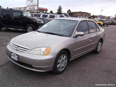 2002 Honda Civic EX (Gold)